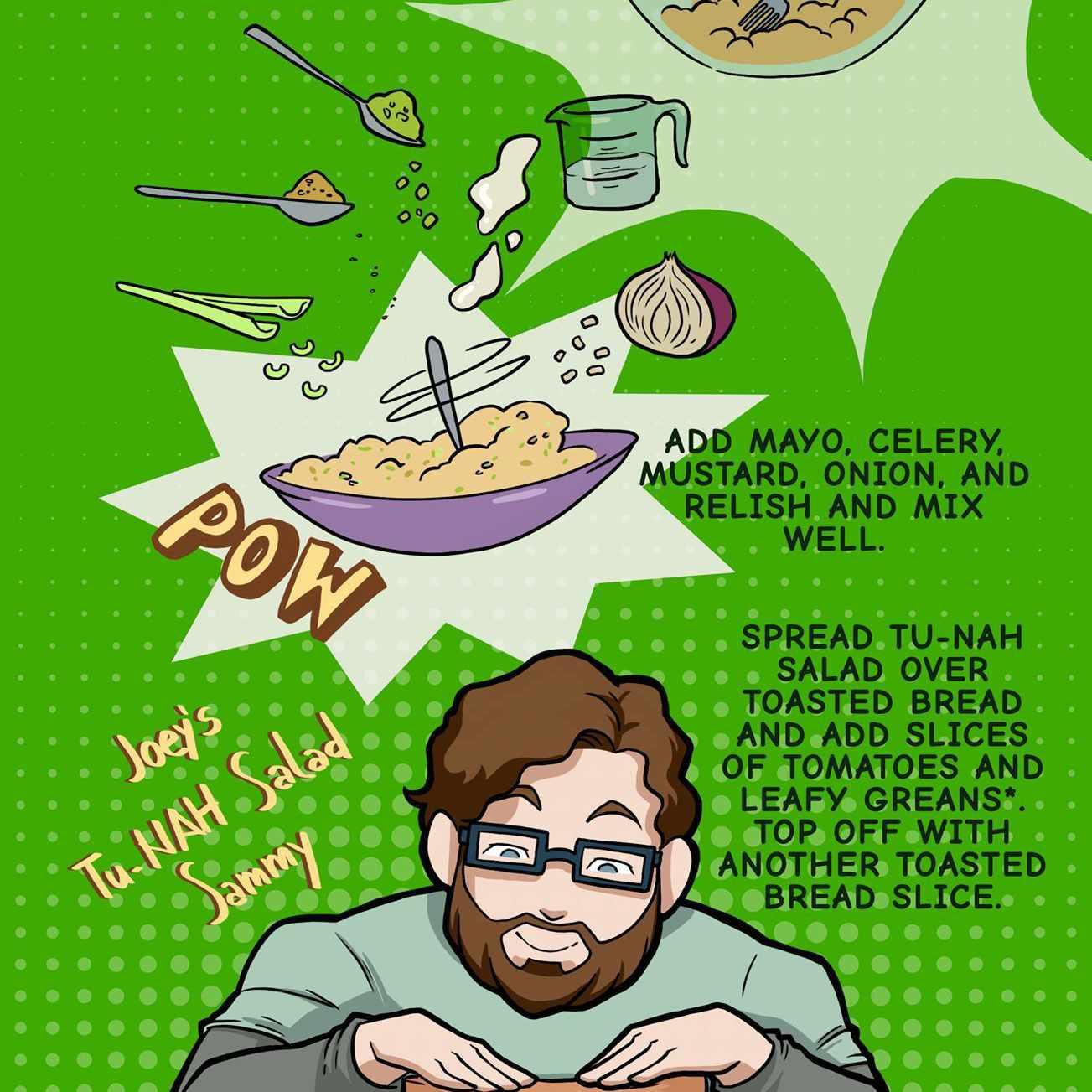 Spooniverse tu-NAH salad recipe