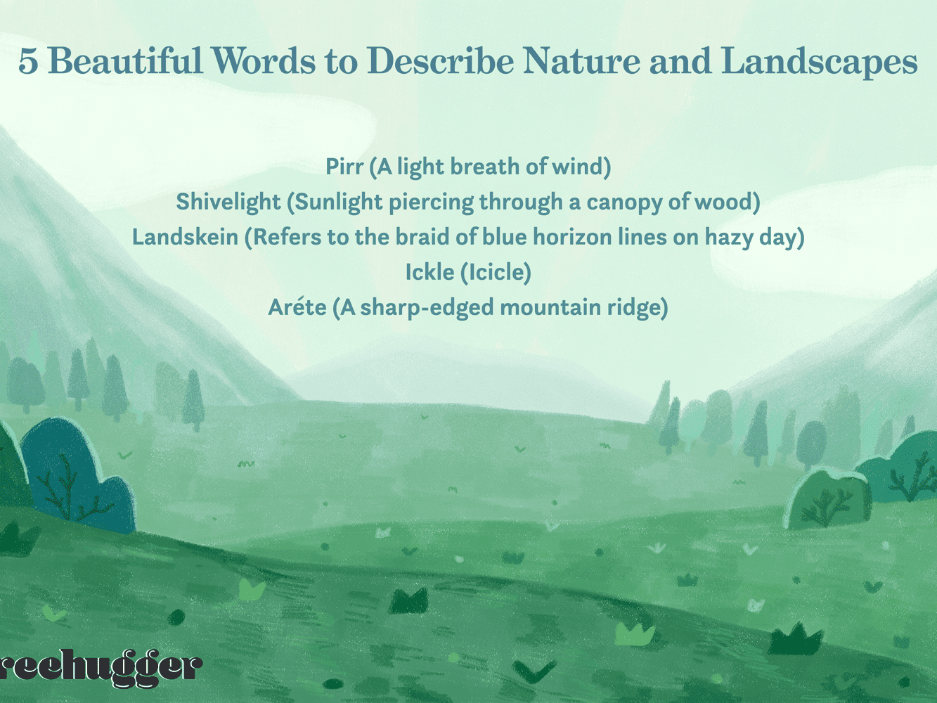 24 Profoundly Beautiful Words That Describe Nature and Landscapes