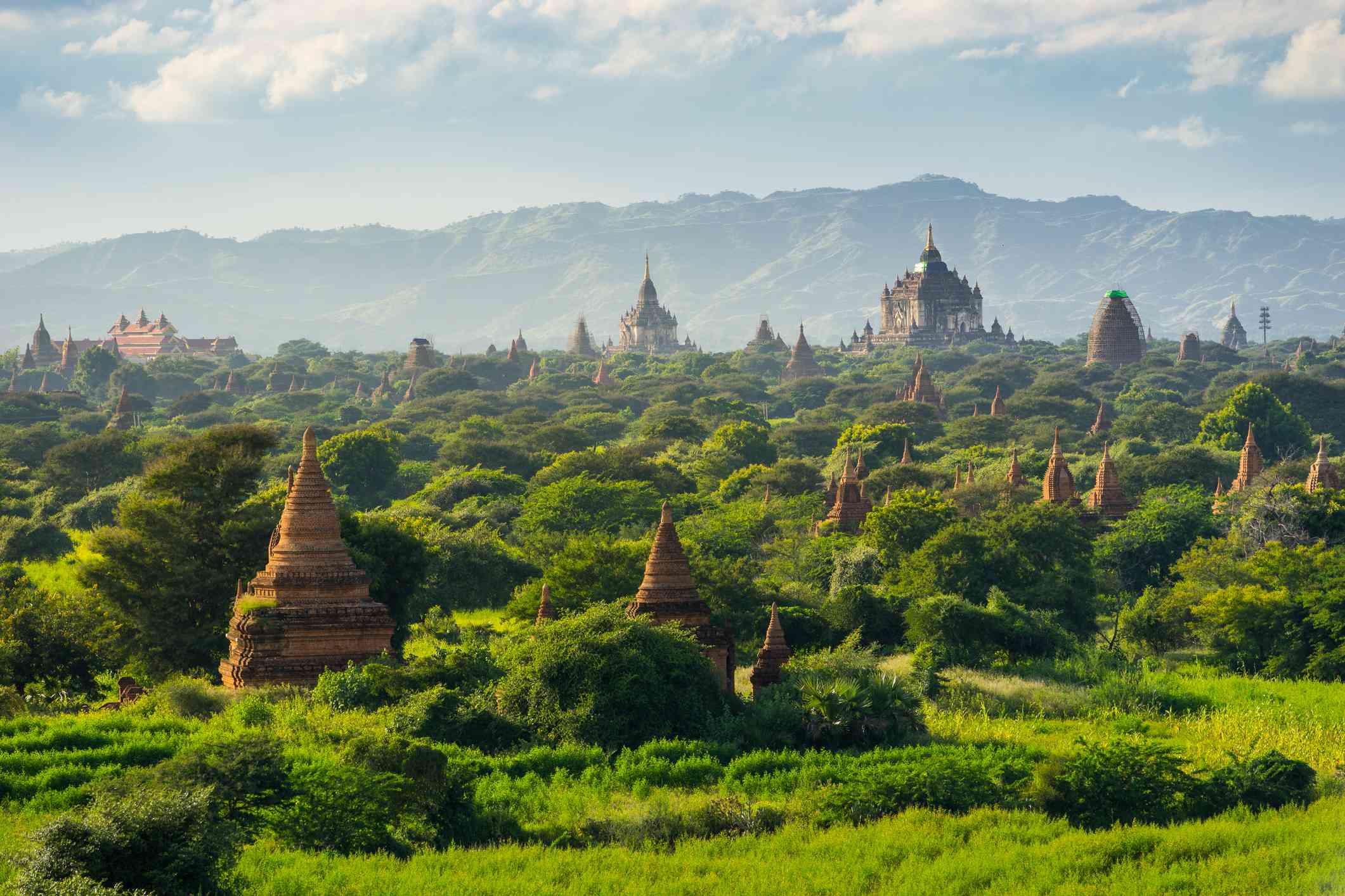 Bagan Temples in Bagan, Myanmar
