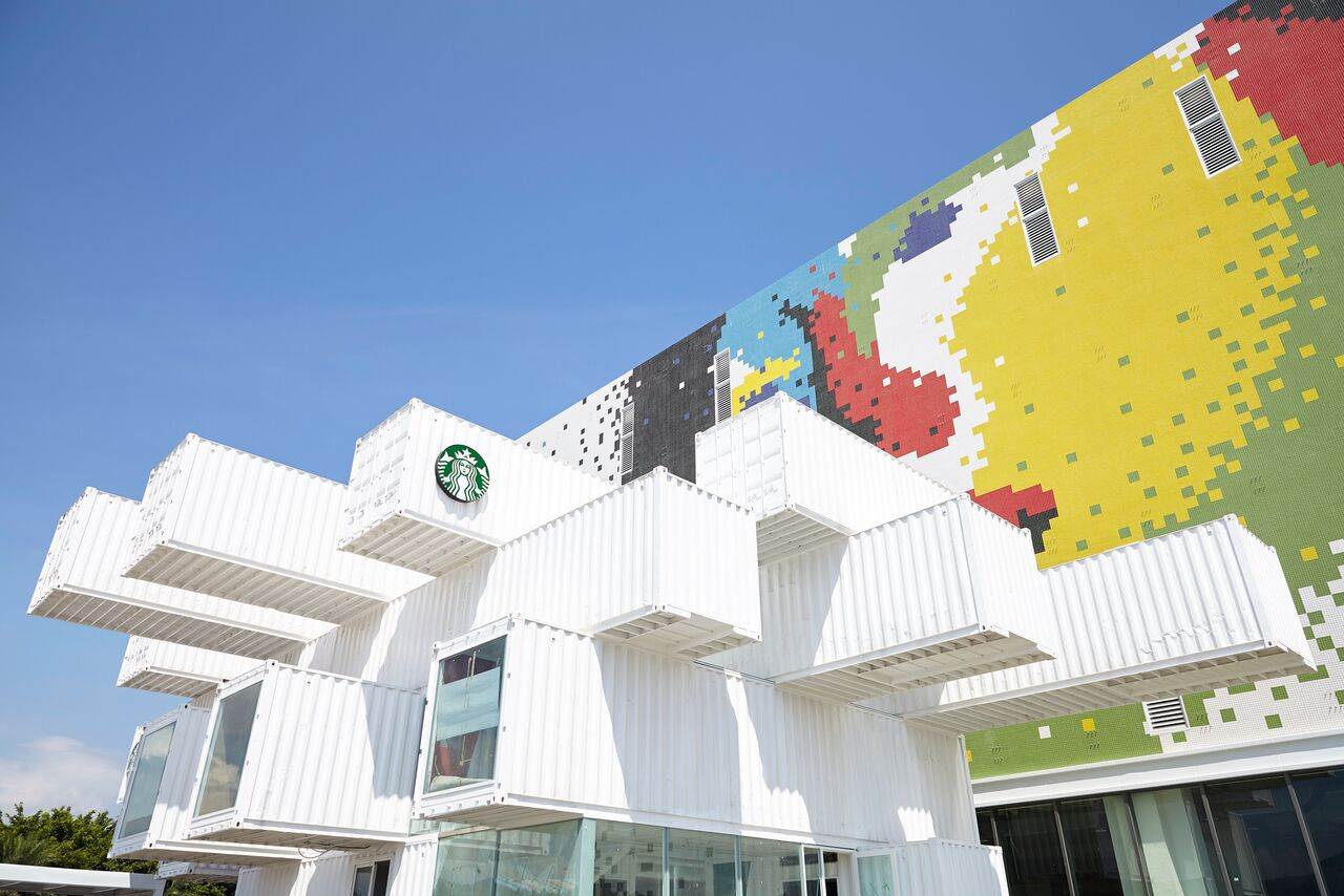 shipping container store in Taiwan