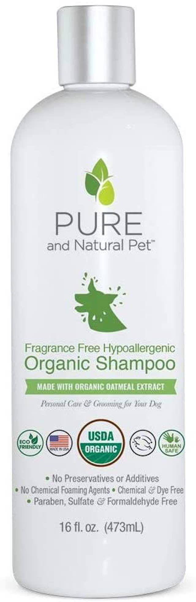 Pure and Natural Pet Organic Shampoo