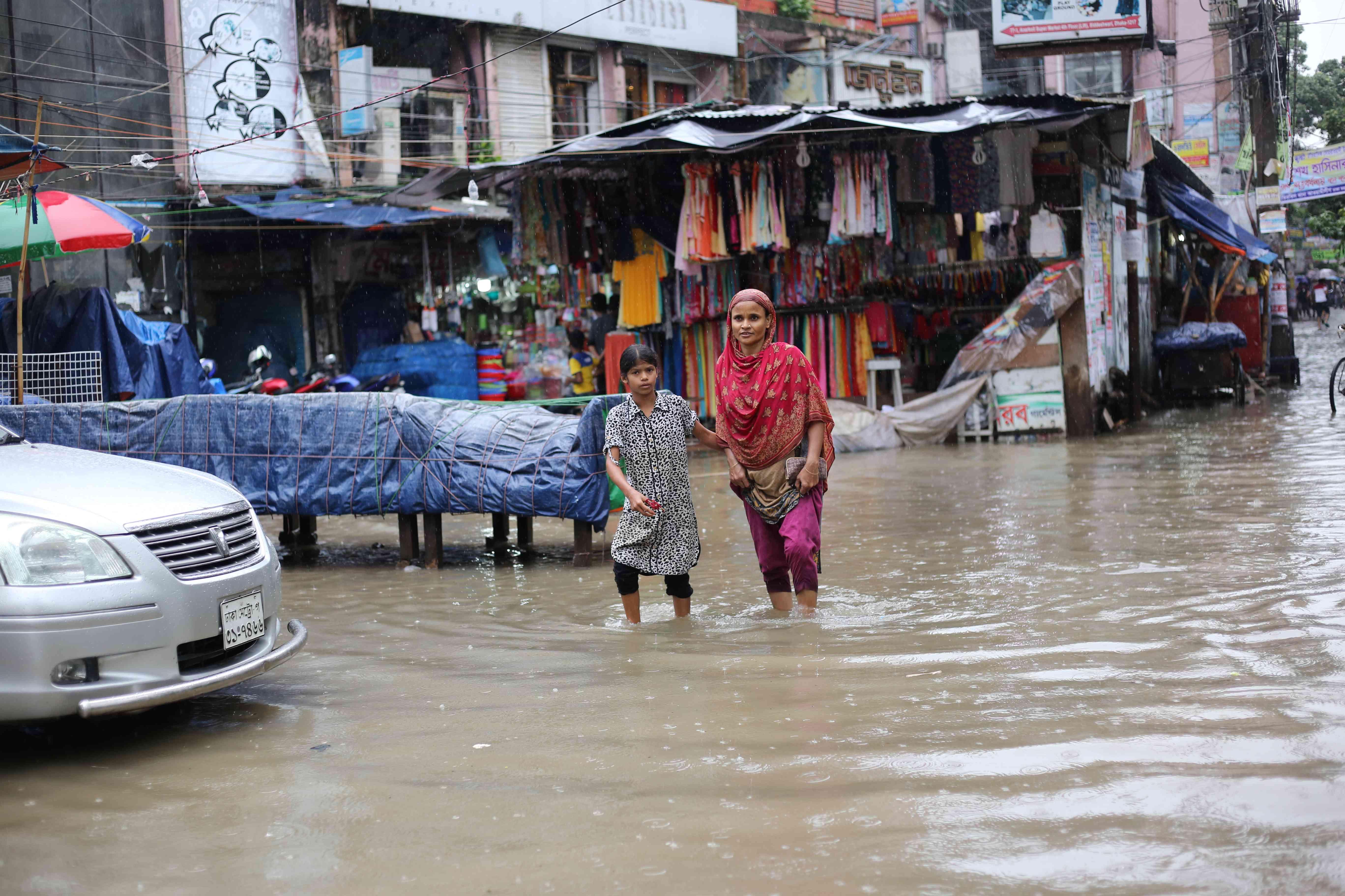 Rainfall in Dhaka