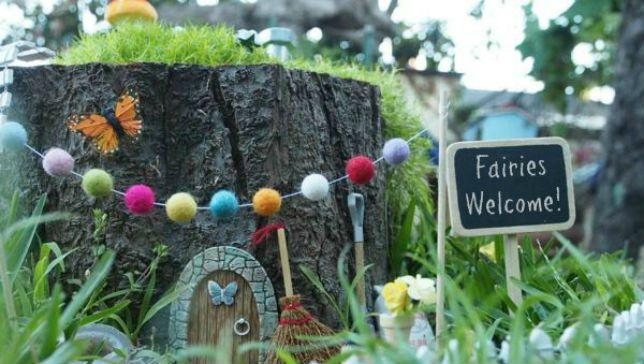 Reaviva la magia de la infancia con un caprichoso jardín de hadas