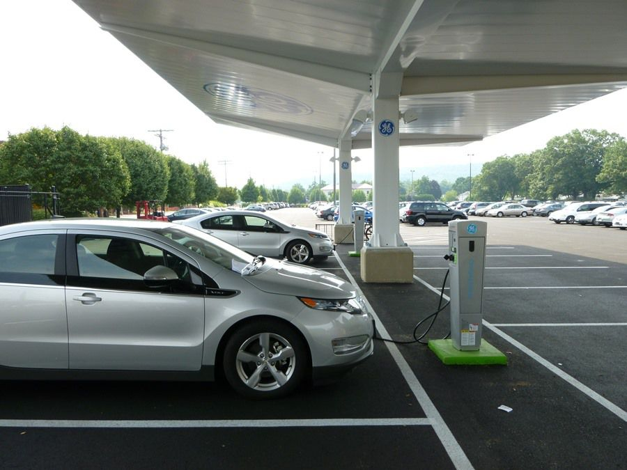 GE charging canopy
