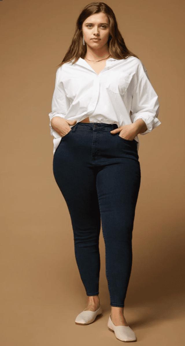 Warp + Weft High Rise Jeans