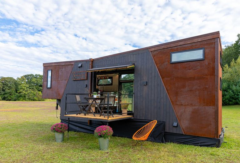 Esta lujosa y pequeña casa funciona con granos de café (video)