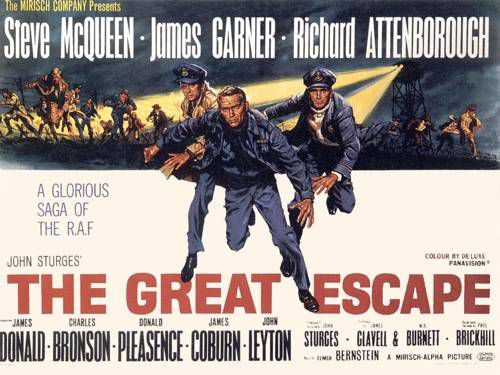 """The Great Escape"" movie poster"