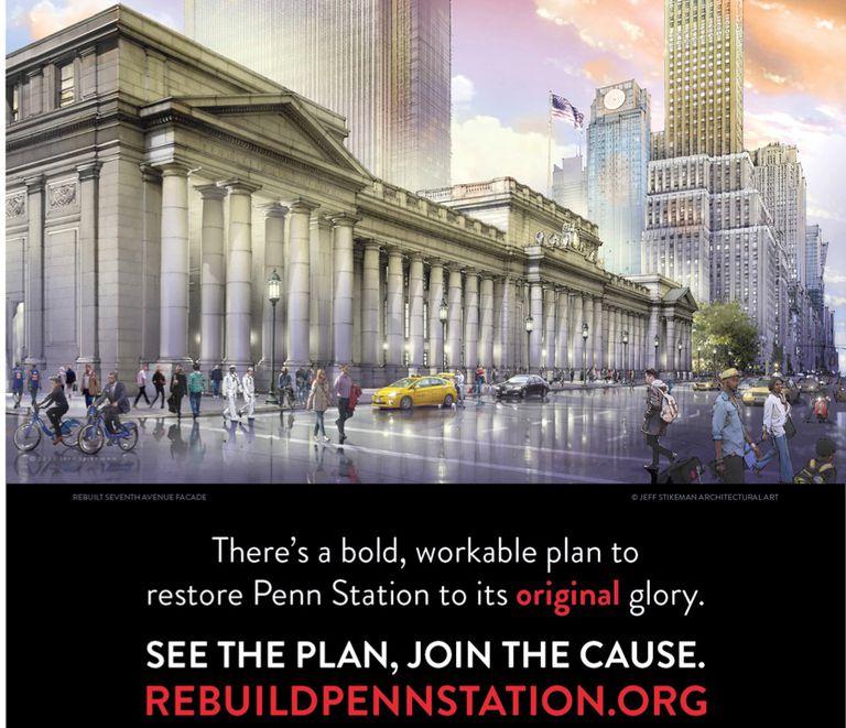 Nueva campaña lanzada para reconstruir Penn Station