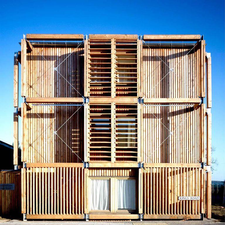 La vivienda social puede ser hermosa y sostenible, como los apartamentos asequibles de Kings Road