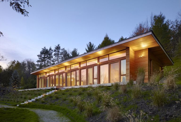 Una casa Superkul para un cliente con sensibilidades ambientales