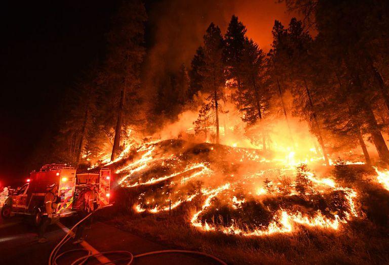 Los incendios forestales son la 'nueva normalidad' para California