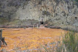 New Idria Mercury Mine in California releases acid mine drainage