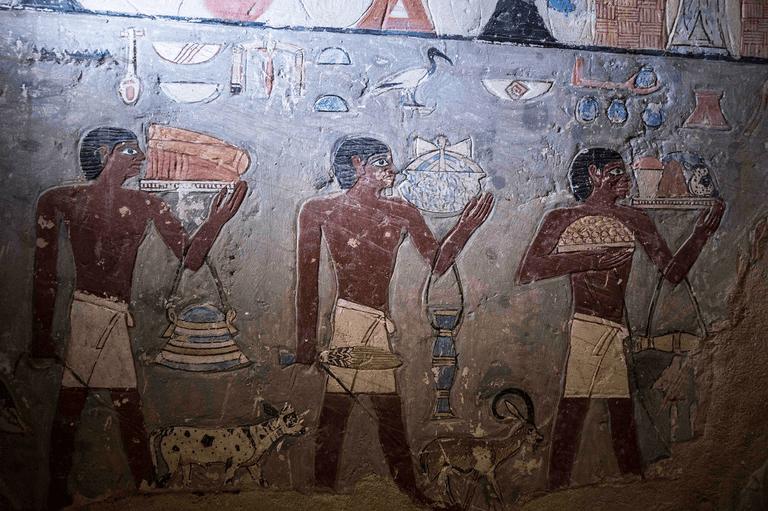 Tumba egipcia de 4.000 años se abre al público
