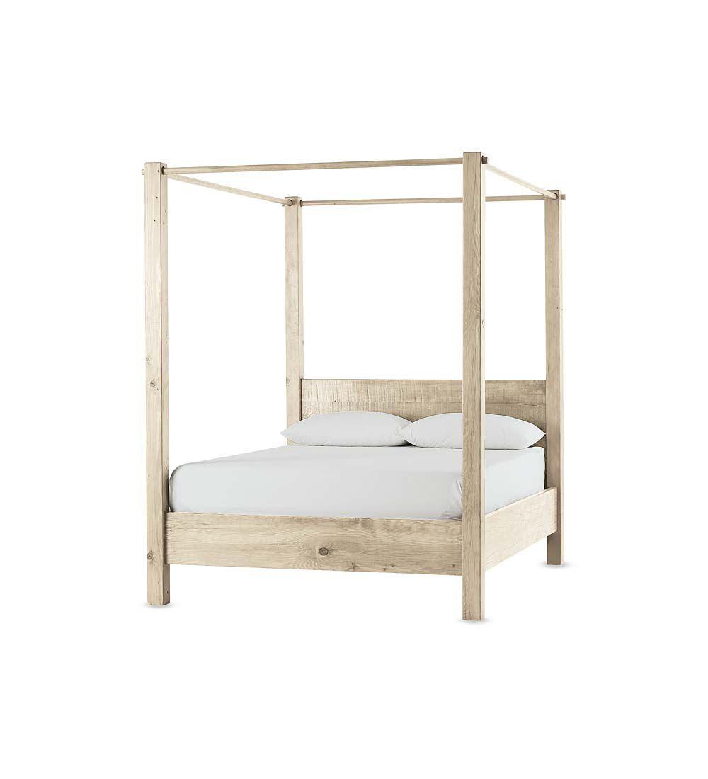 Viva Terra Vintage Fir West Linn Canopy Bed