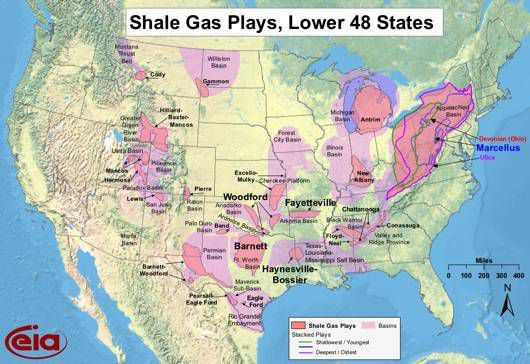 map of u.s. shale gas reserves