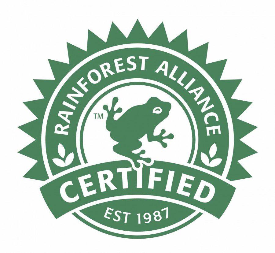Green product certification - Rainforest Alliance Certified/Verified