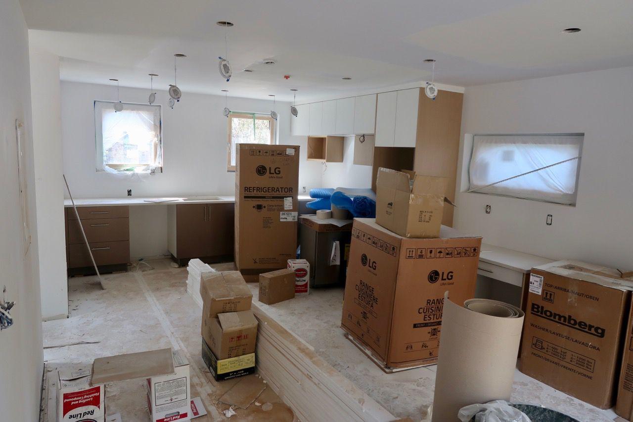 Interior lower living room