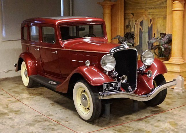 John Dillinger had the keys to this Terraplane for only about a month.