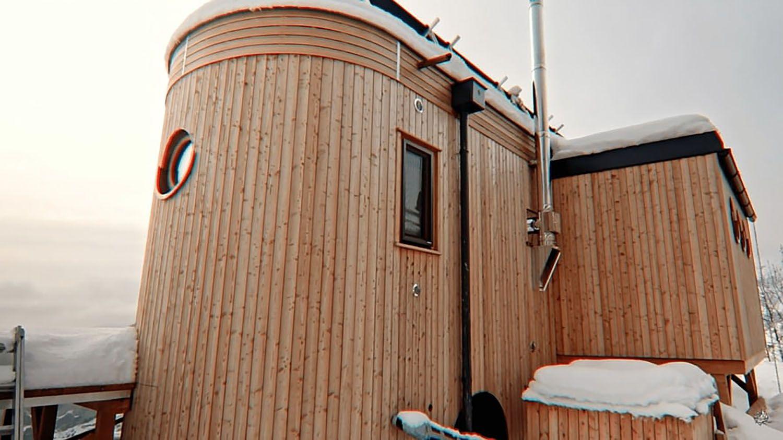 Hallo Holger tiny house exterior