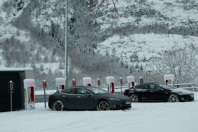 An EV Charging Station in Mosjøen, Norway