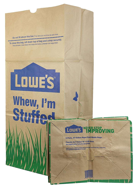 Lowe's Trash Bag