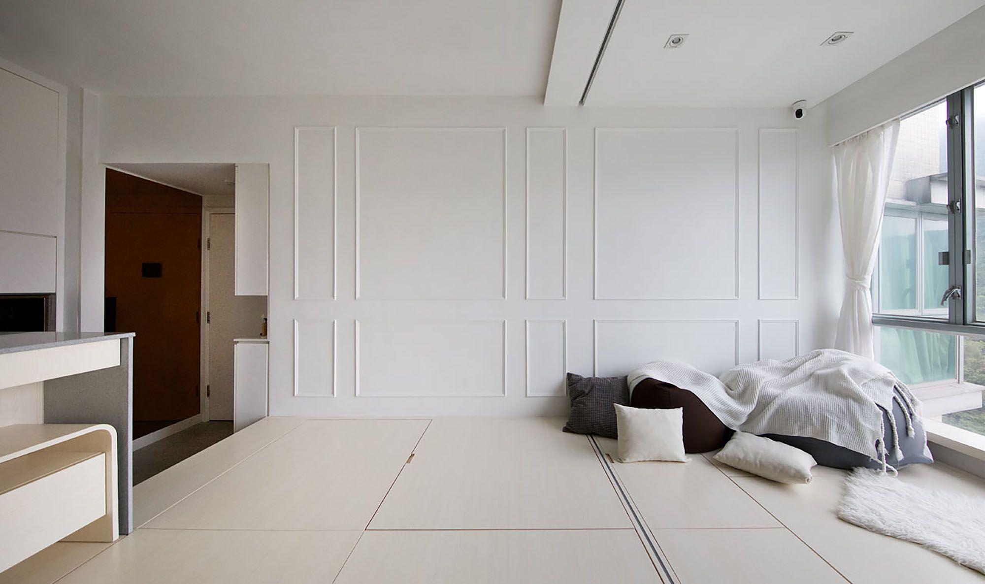Smart Zendo micro-apartment by Sim-Plex Design Studio interior