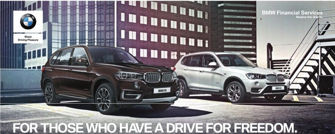 BMW ad says cars are freedom