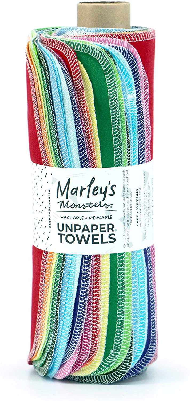 Marley's Monsters Reusable Unpaper Towel Roll