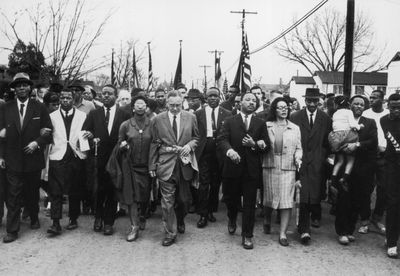 MLK civil rights march