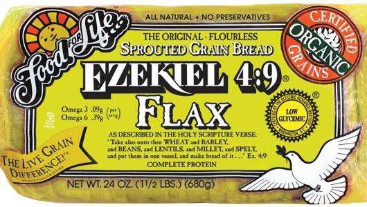 Ezequiel 4: 9 Pan de lino germinado: una potencia orgánica de nutrición