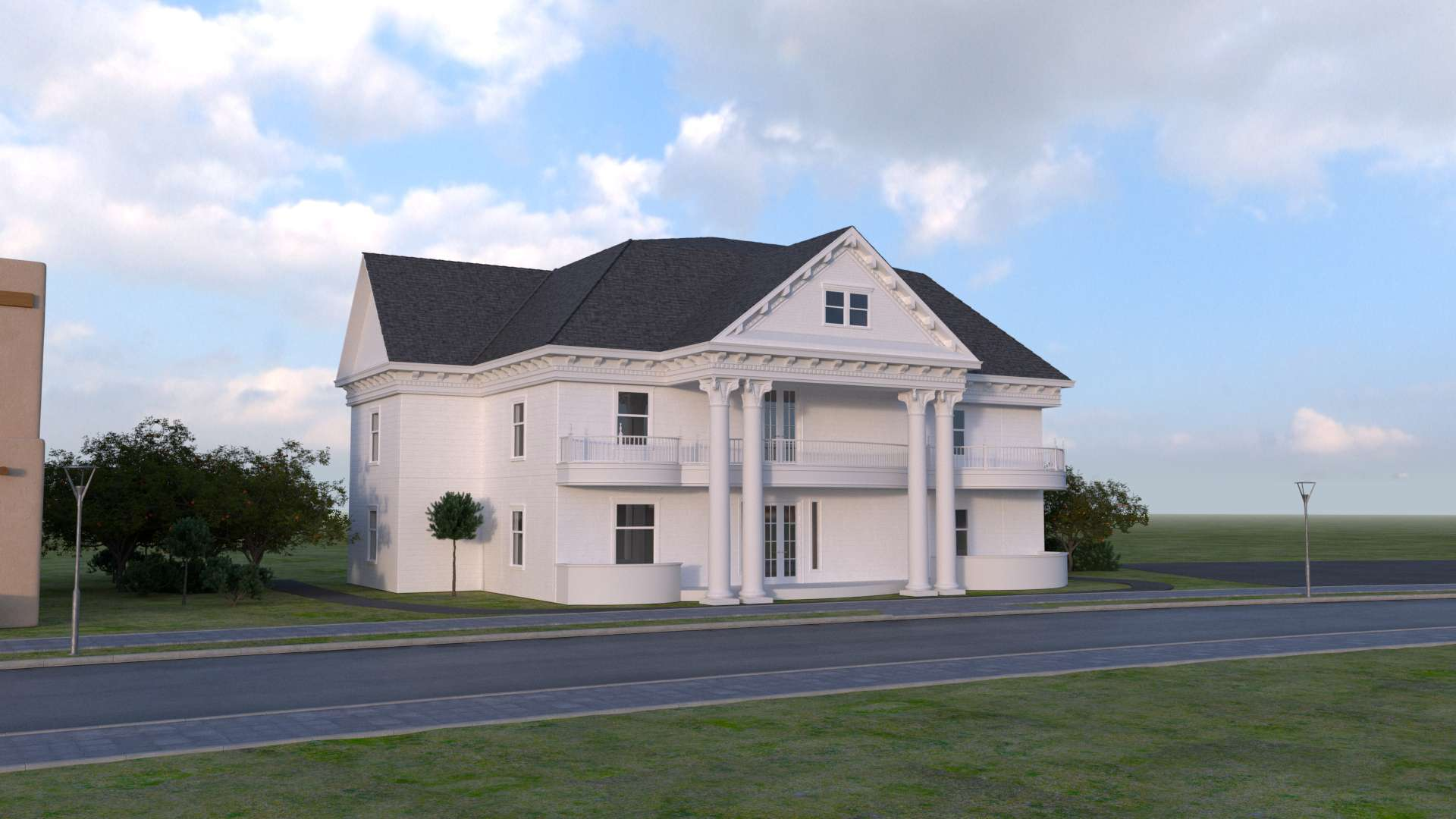 Finished McMansion