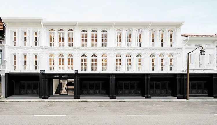 facade hotel mono