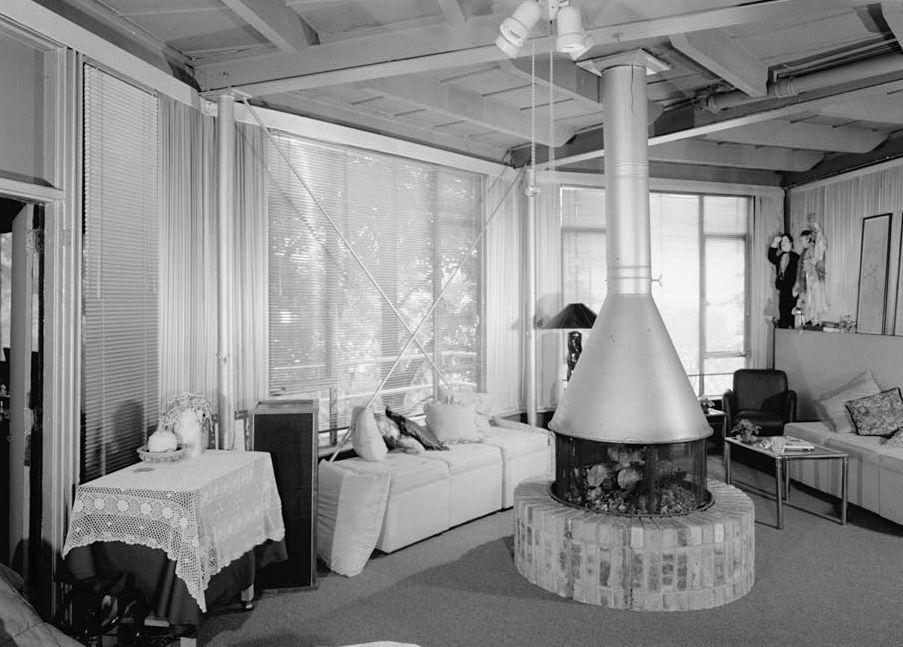 Interior of House of Tomorrow