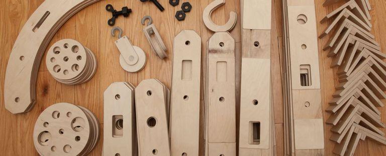 Este kit de construcción a gran escala ayuda a los niños a aprender sobre ingeniería, arquitectura y diseño a través del juego