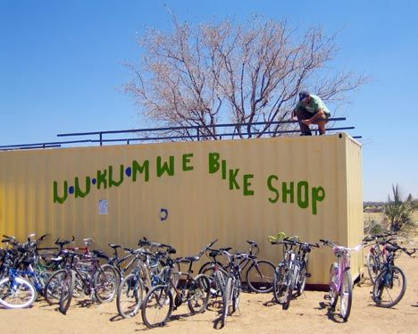 uukumwe bike shop nkurenkuru namibia photo