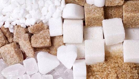 Información nutricional del azúcar