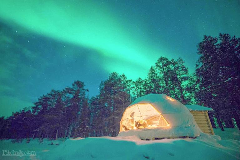 5 lugares de glamping en invierno para reservar para una escapada acogedora