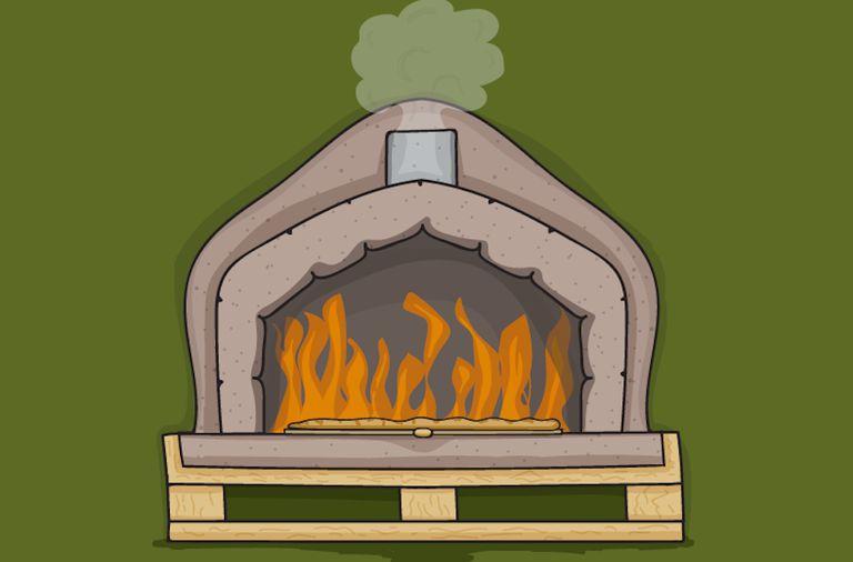 Construya su propio horno de leña para pizza