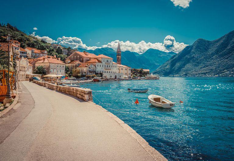 Boka Kotor Bay in Montenegro