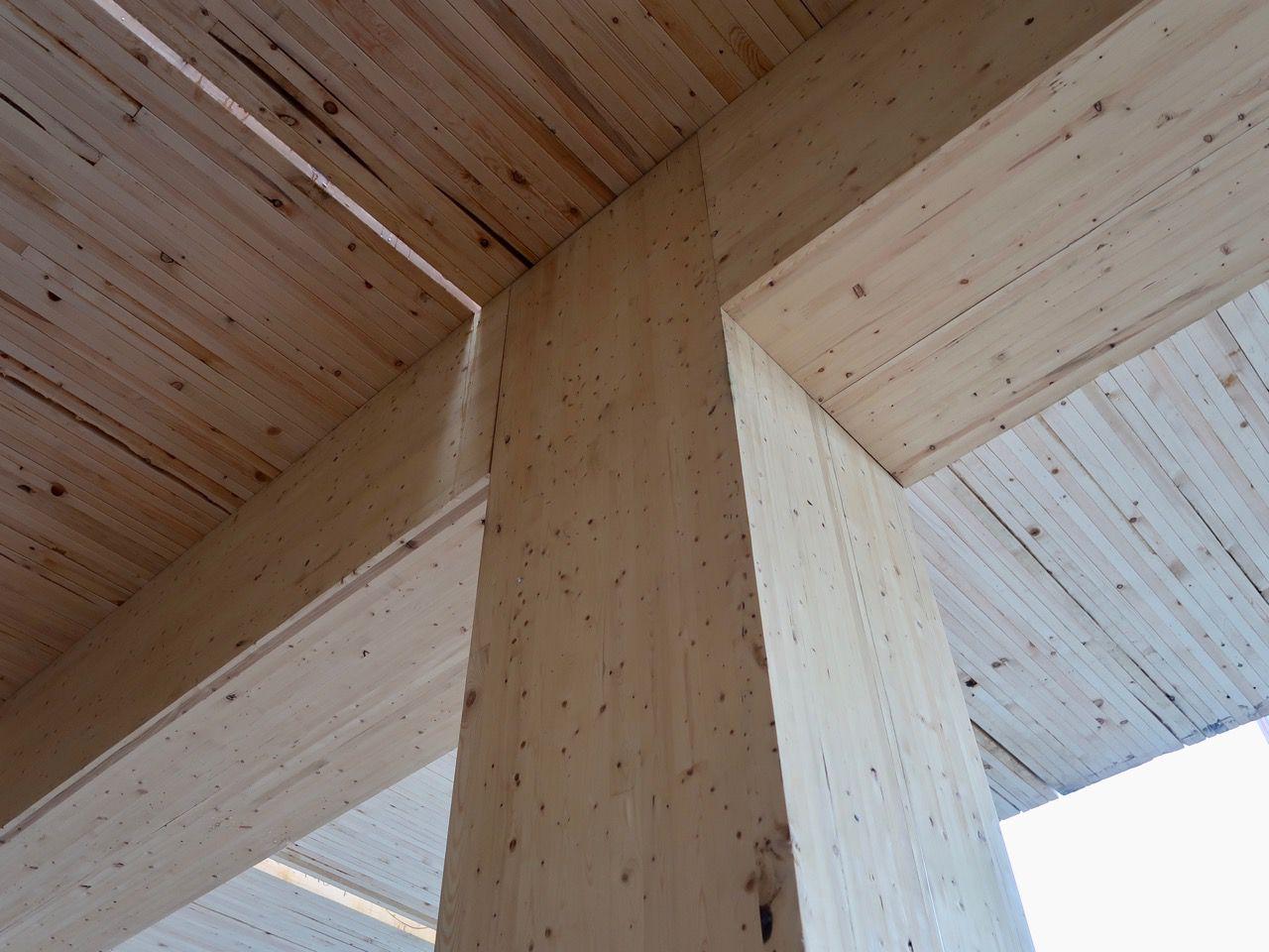 Column and beam