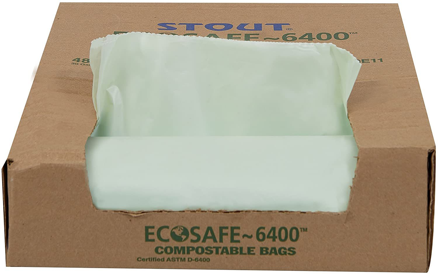 STOUT by Envision EcoSafe-6400 Compostable Bags
