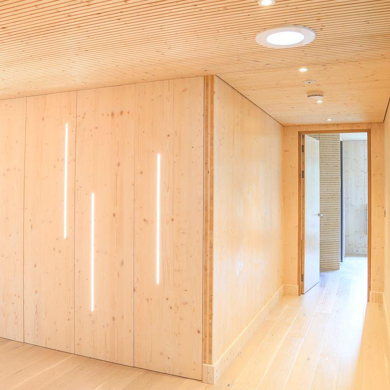 Larch corner interior