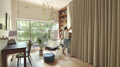 the purple rose of cairo micro-apartment renovation Architecture Architecture interior
