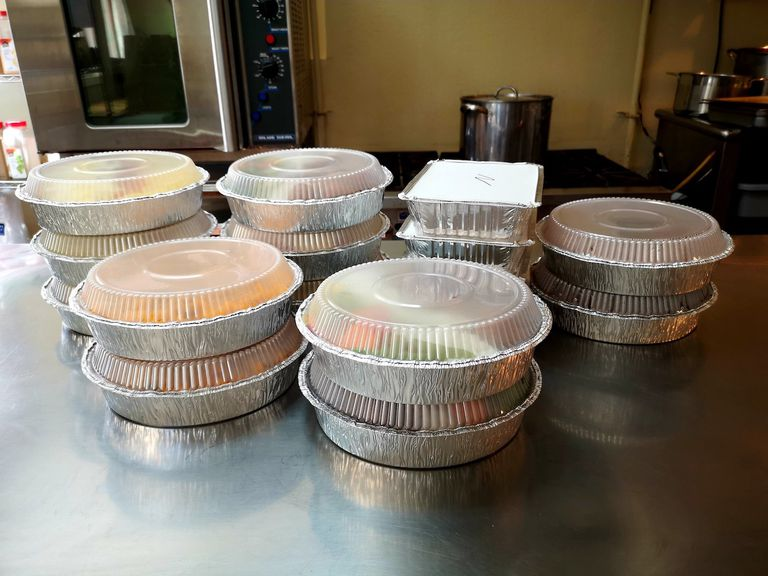 containers of takeout food