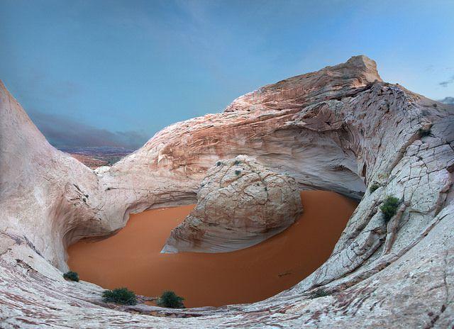 ¿De dónde vino el extraño y enorme 'ombligo cósmico' de Utah?