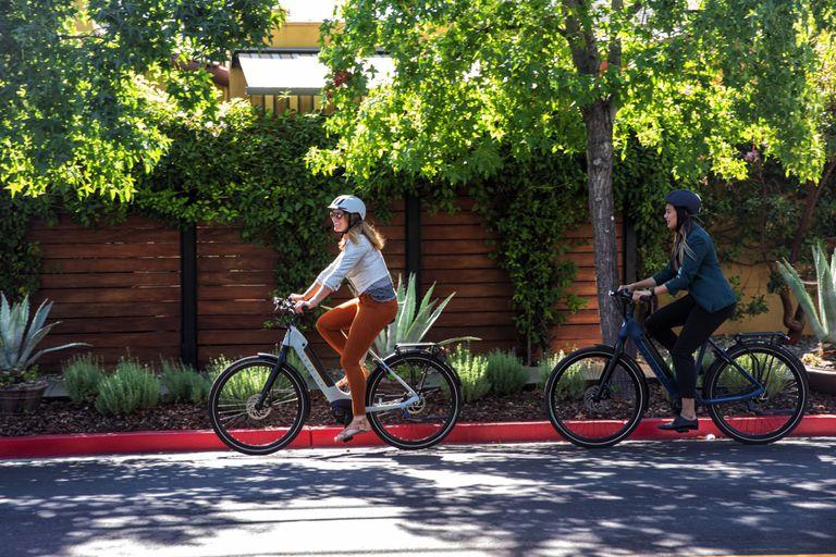 Riding Gazelle C380 Bikes