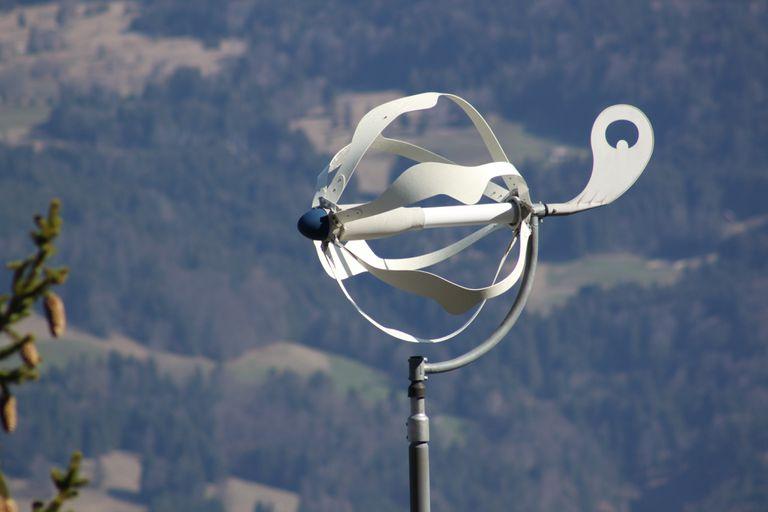 A Swedish wind turbine designed for individual properties.