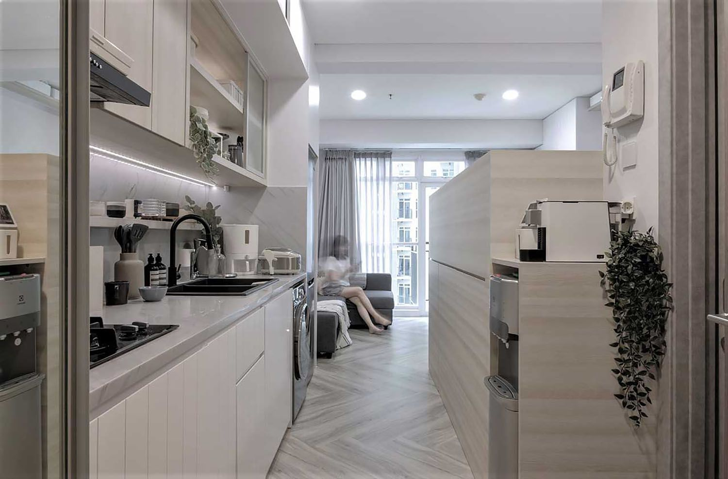 Quiet Apartment Co+in Collaborative Lab entry