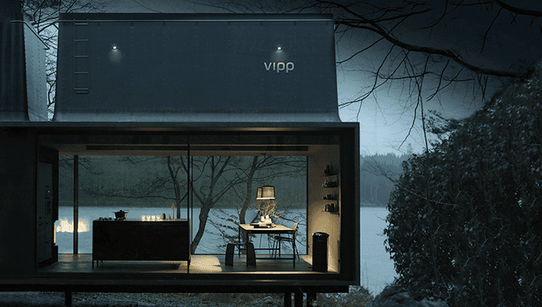 View of VIPP module through a full window