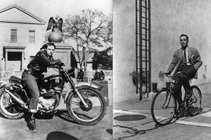 There is a difference between a bike and a motorcycle